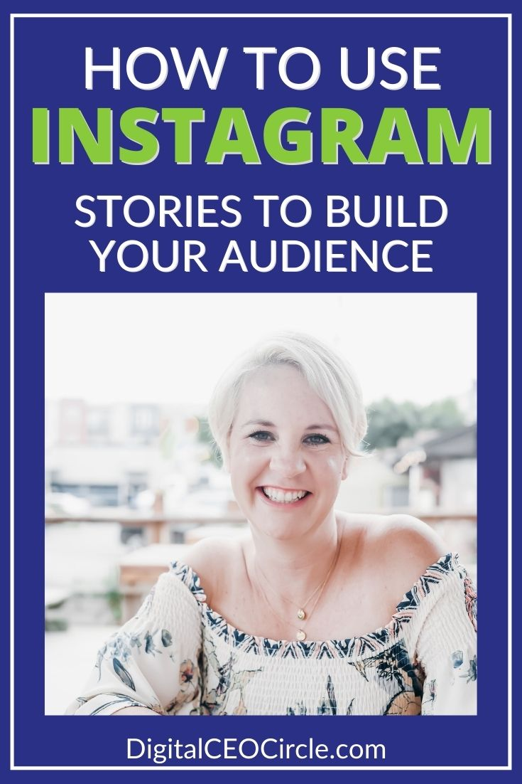Jenny Melrose discusses how to use Instagram stories to build your audience