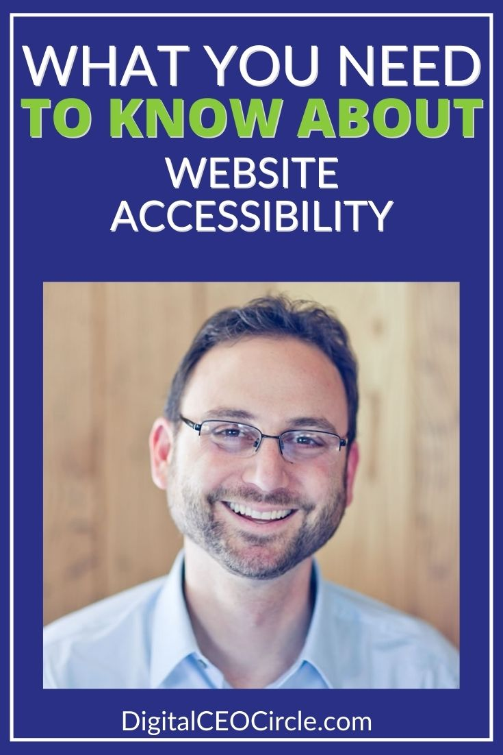 Andrew Wilder talk about what you need to know about website accessbility
